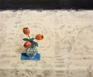 flowers, Fred Bell, still life,