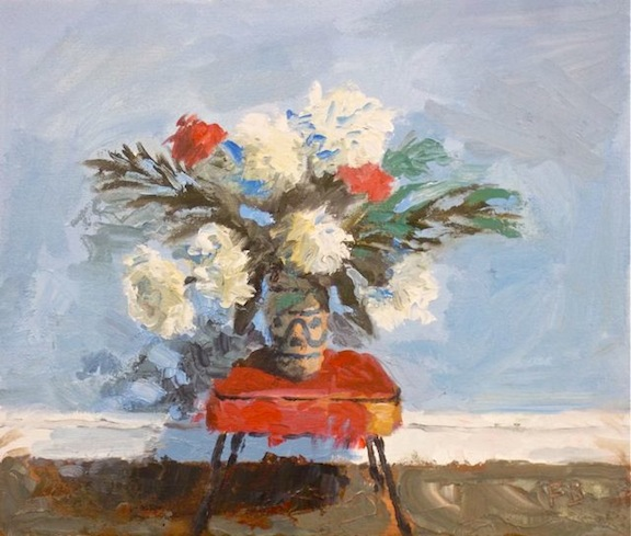 New Flower Still Life Painting from Fred Bell