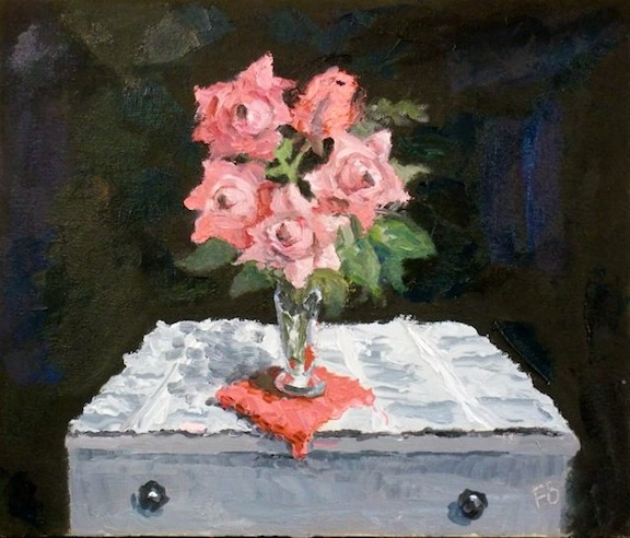 New Still Life Painting From Fred Bell